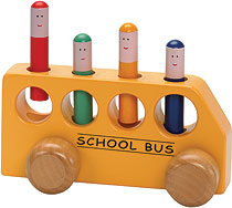 Pop-Up School Bus