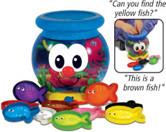 Color Fun Talking Fish Bowl