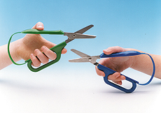 Long-Loop Easy-Grip Scissors