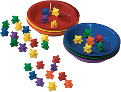 Bear Counters & Sorting Bowls