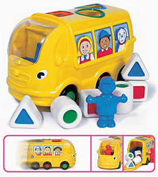 Shape Sorter School Bus
